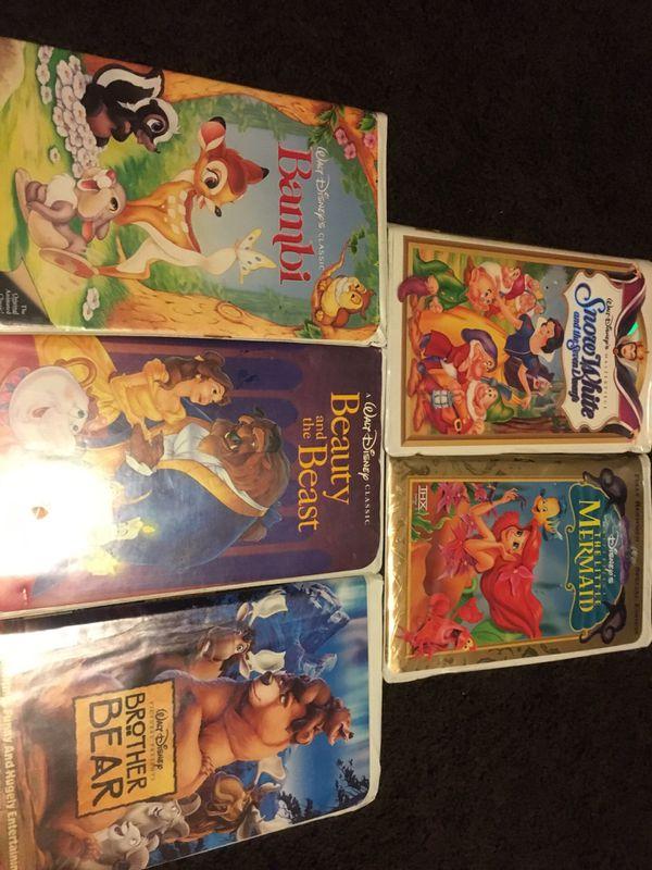5 good walt Disney movies