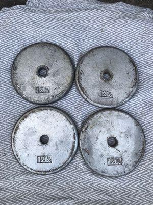 Weight Plates 50 lbs for Sale in Alpharetta, GA