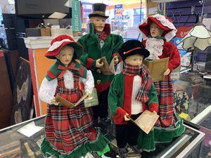 New Set of 4 Handcrafted 'Santa's Workshop' Dolls for Sale in Virginia Beach, VA