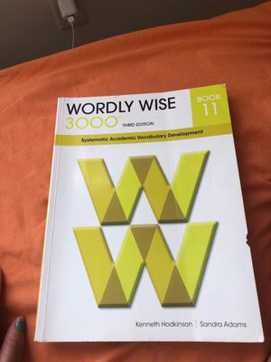 Wordly Wise Book11 for Sale in Virginia Beach, VA