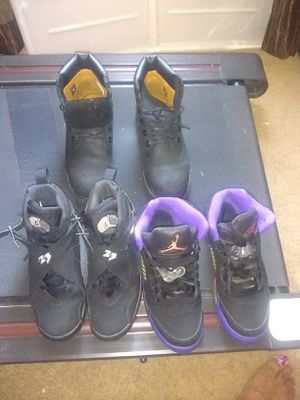 Jordans and timberland size 6y for Sale in Stone Mountain, GA