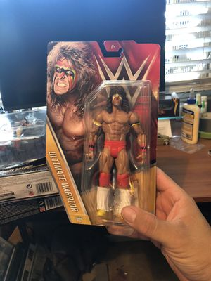 Ultimate Warrior action figures for Sale in Perris, CA