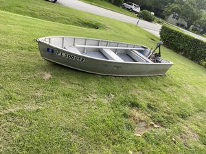 12 ft aluminum boat and more for Sale in Aloma, FL