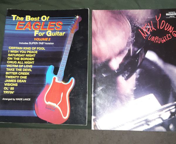 The Best of the eagles vol.2 and Neil Young unplugged
