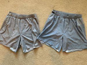 "Lululemon men workout shorts (Size M, 5"" inseam) for Sale in Houston, TX"