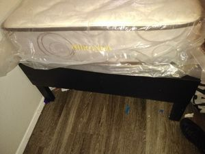 Twin size bed and frame for Sale in Lawton, OK