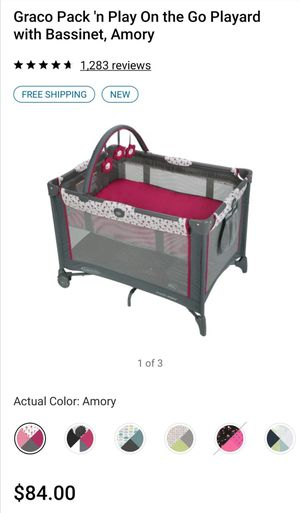 Graco pack n play used for 2 months for Sale in Phoenix, AZ