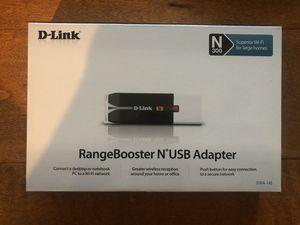 D-Link RangBooster N USB Adapter for Sale in Irvine, CA