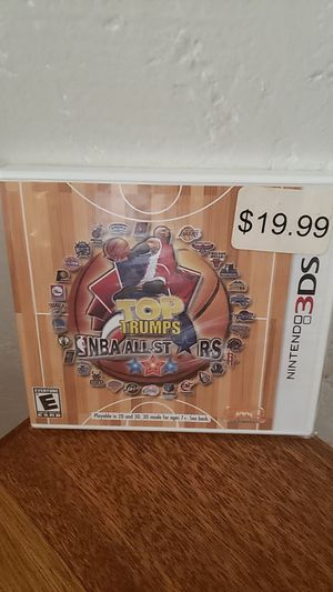 Brand New Factory Sealed Nintendo 3DS Top Trumps NBA All Stars for Sale in Hayward, CA