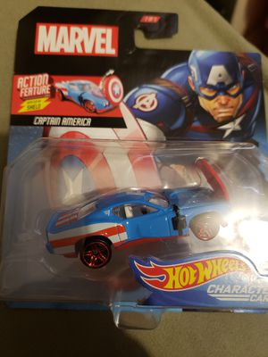 Hot wheels marvel character for Sale in Brooklyn, NY