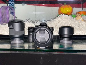 Sony A7III Body + 3 Lenses For Sale!!! for Sale in PT CANAVERAL, FL