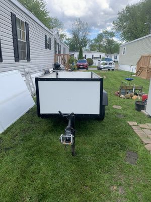 Utility trailer 4x8 (no title ) for Sale in Oak Lawn, IL