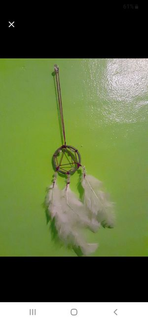 Home made dreamcatcher for Sale in Owosso, MI