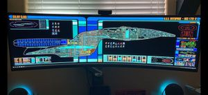 """Samsung C49HG90DM 49"""" Ultra Wide Monitor. for Sale in Los Angeles, CA"""