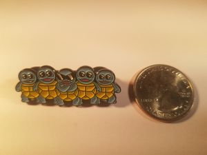 *SHIP ONLY* Suirtle Squad Hard Enamel Collectible Pokemon Pin Badge for Sale in Phoenix, AZ