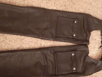 Leather Motorcycle Chaps for Sale in Grayland,  WA