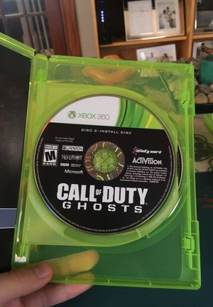 Call of duty: Ghosts (Xbox 360) for Sale in Malden, MA