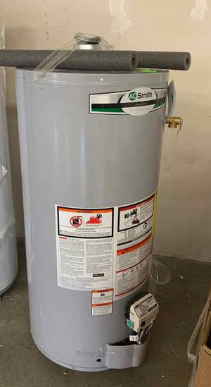 NEW AO SMITH WATER HEATER WITH WARRANTY 40 gallons PP for Sale in Pasadena, CA