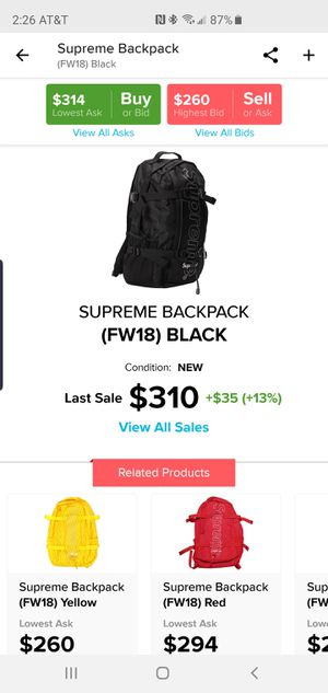 Supreme Backpack for Sale in Odenton, MD