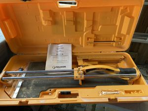 Felker tile cutter for Sale in Frederick, MD