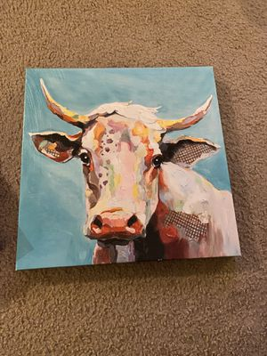 Cow canvas for Sale in Upland, CA