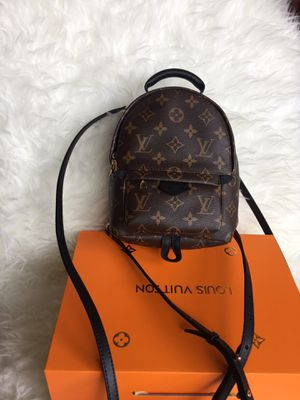 Louis Vuitton LV Monogram Palm Springs Mini Backpack Bag Purse Handbag for Sale in Chicago, IL