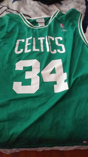 Paul pierce celtics throwback jersey Reebok for Sale in Bristol, RI