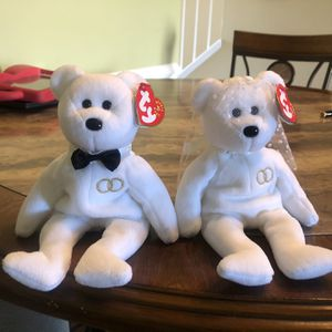 TY Beanie Baby Bride And Groom Bear Set for Sale in Centreville, VA