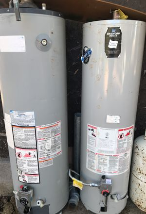 2water heaters 1 is 40 galons and the other is 50 galons I'm askin 120 for bout for more Inf call 831 seventh tree seven 94 seven 6 for Sale in Vernon, AZ