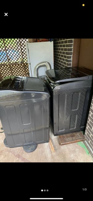 Samsung Washer and Dryer Set for Sale in Pine Bluff, AR