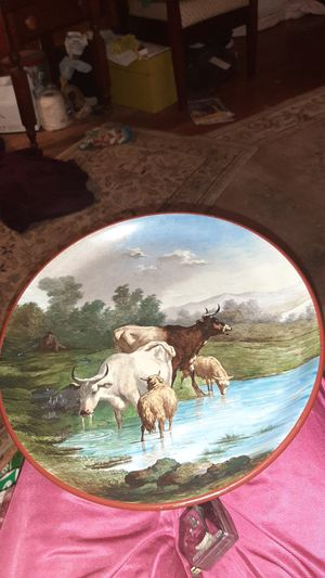 Antique plate LM&C from 1800s very valuable! for Sale in Tulsa, OK