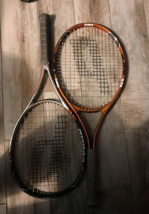 Set of prince tennis rackets for Sale in Redlands, CA
