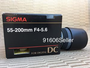 Sigma 55-200 MM Lens for Sale in Los Angeles, CA