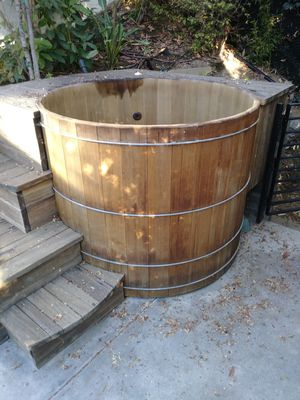 Wooden hot tubs for Sale in South Gate, CA