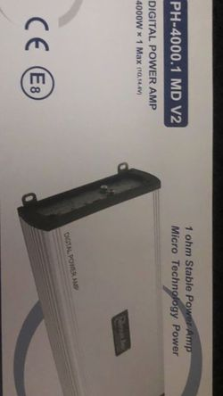 American Bass Ph 4000 Mono Block Amp New for Sale in Cleveland,  OH