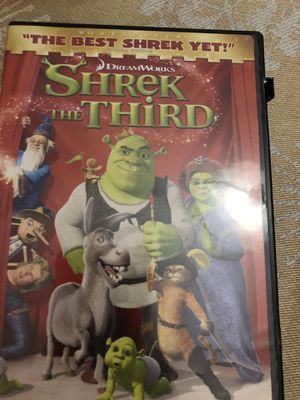 DVD no scratches at all Shrek the third and the dark Crystal for Sale in Mesa, AZ