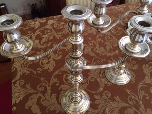 sterling silver international candlesticks,Pair for Sale in Rockville, MD