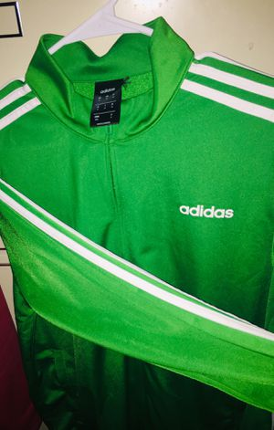 Green rare adidas jacket for Sale in Cincinnati, OH