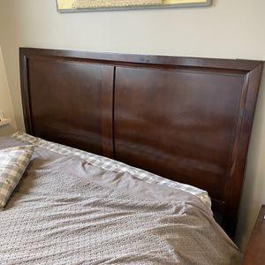 Queen Sized Wood Bed Frame for Sale in Portland, OR
