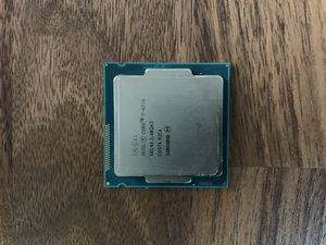 I7 4770 LGA 1150 - MINT CONDITION for Sale in Merrimac, MA