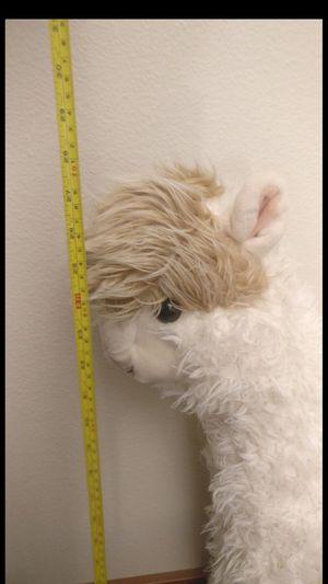 Big stuffed standing animal lama for Sale in Lynnwood, WA