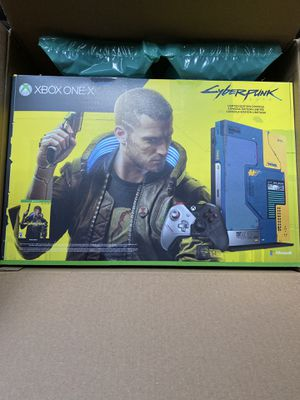 Limited Edition Cyberpunk Xbox One X for Sale in Sioux Falls, SD