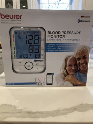 BEURER BLOOD PRESSURE MONITOR! BRAND NEW! for Sale in Mukilteo, WA