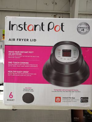 Instant Pot Air Fryer Lid with Roast Bake, Broil, Reheat & Dehydrate – 6 qt for Sale in Casselberry, FL