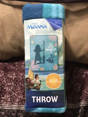Disney's Moana Throw Blanket for Sale in Sioux Falls, SD