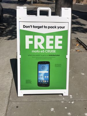 FREE MOTOE5 CRUISE WHEN YOU SWITCH for Sale in Santa Maria, CA