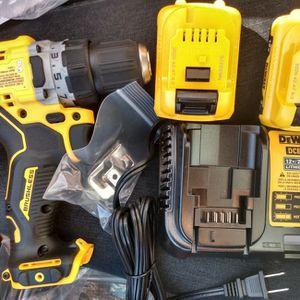 Dewalt Drill/Driver Kit 3/8(10mm) 12vmax for Sale in Phoenix, AZ