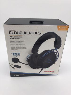 HyperX cloud Alpha S Headset Blue NEW Mic for Sale in La Habra Heights, CA