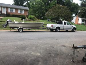 93 key West boat and trailer for Sale in North Chesterfield, VA