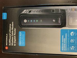 MotorolaSBG6580 Spectrum Cable Modem / Gigabit Router for Sale in Arlington, TX